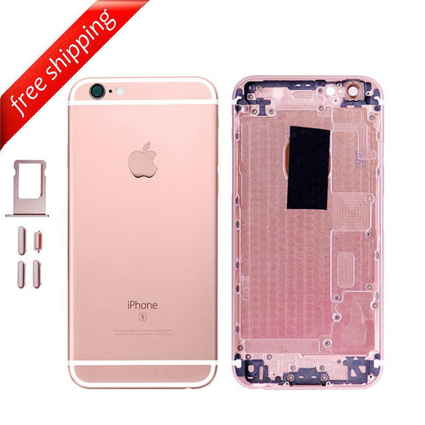 Back Housing Replacement Battery Case Cover Rear Frame For iPhone 6s - Rose Gold