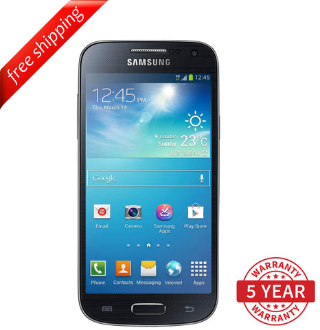 Original Samsung Galaxy S4 Mini i9195 4G/3G Factory Unlocked Black (8GB) - Refurbished
