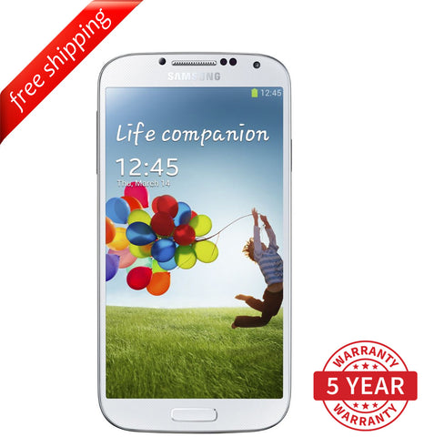 Original Samsung Galaxy S4 i9500 4G LTE Factory Unlocked White (16GB) - Refurbished