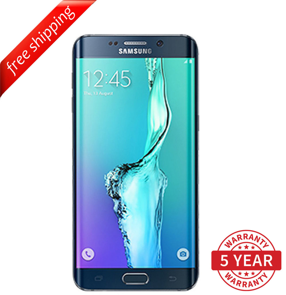 Original Samsung Galaxy S6 Edge G925 4G LTE Factory Unlocked Black (32GB/64GB) - Refurbished
