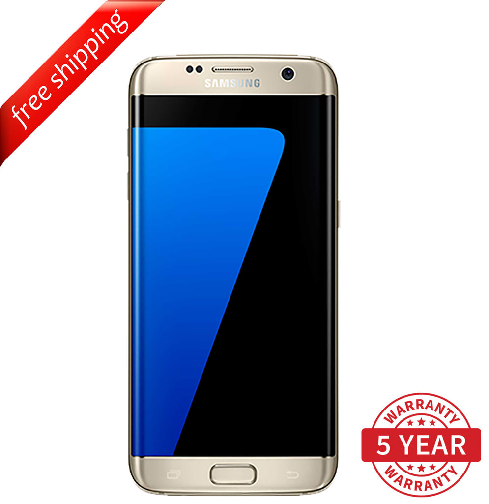Original Samsung Galaxy S7 Edge G935 4G LTE Factory Unlocked  Gold (32GB) - Refurbished