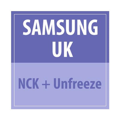 Samsung UK NCK + UNFREEZE - Delivery Time : 24 Hours