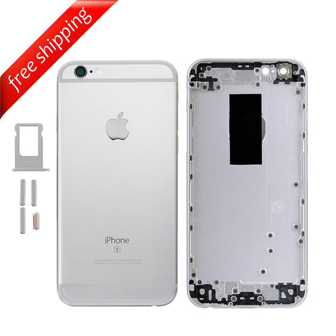 Back Housing Replacement Battery Case Cover Rear Frame For iPhone 6s - Silver