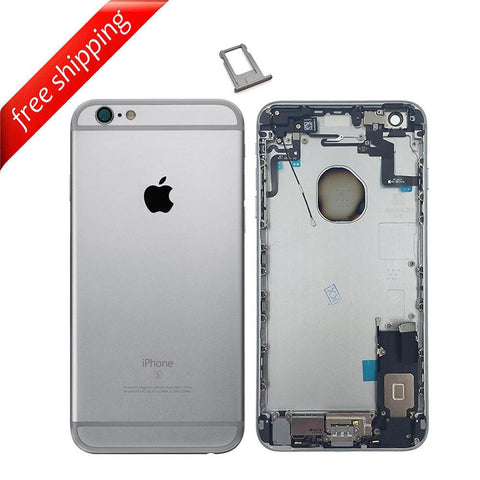 Back Housing Replacement Battery Case Cover Rear Frame With Spare Parts For iPhone 6s Plus - Grey
