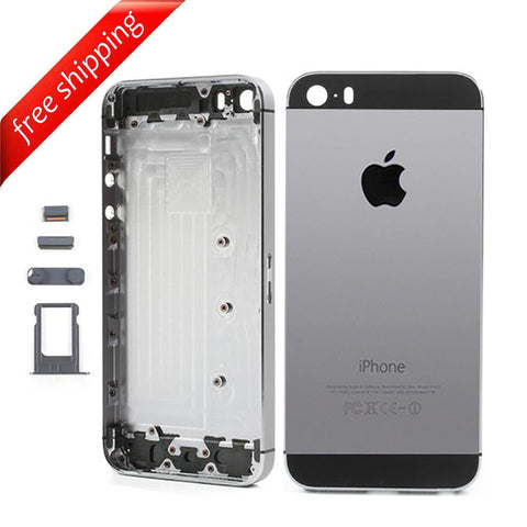 Back Housing Replacement Battery Case Cover Rear Frame For iPhone 5s - Space Grey