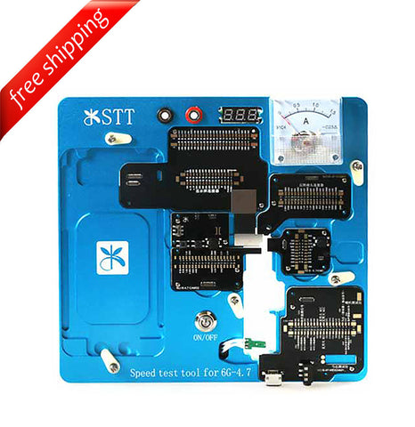 Mijing STT Fast Speed Test Fixture & Testing Jig For iPhone 6 Motherboard Testing Tools - ( English & Chinese Software )