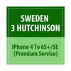 Sweden 3 Hutchinson iPhone 4 To 6S+/SE Premium Service - Delivery Time : 4 days