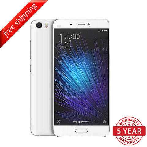 Xiaomi Mi 5 Standard Edition 3GB+32GB /  3GB+64GB Dual SIM  (Multi-Language) - White
