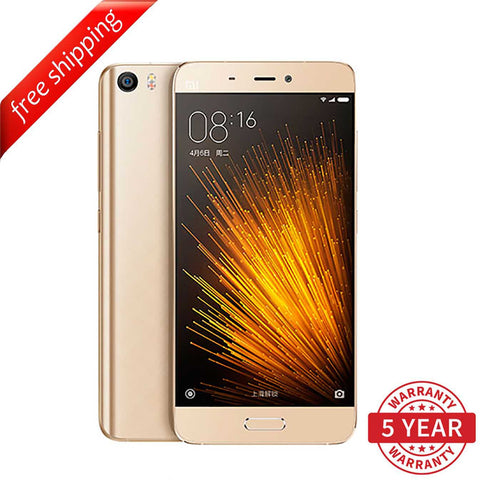 Xiaomi Mi 5 Standard Edition 3GB+32GB /  3GB+64GB Dual SIM (Multi-Language) - Gold