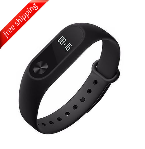 Original Waterproof Xiaomi Mi Band 2 Smart Wristband Bracelet Heart Rate Monitor