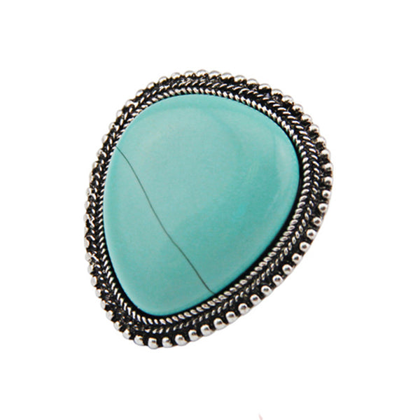 Adjustable Turquoise Ring (Free Shipping)