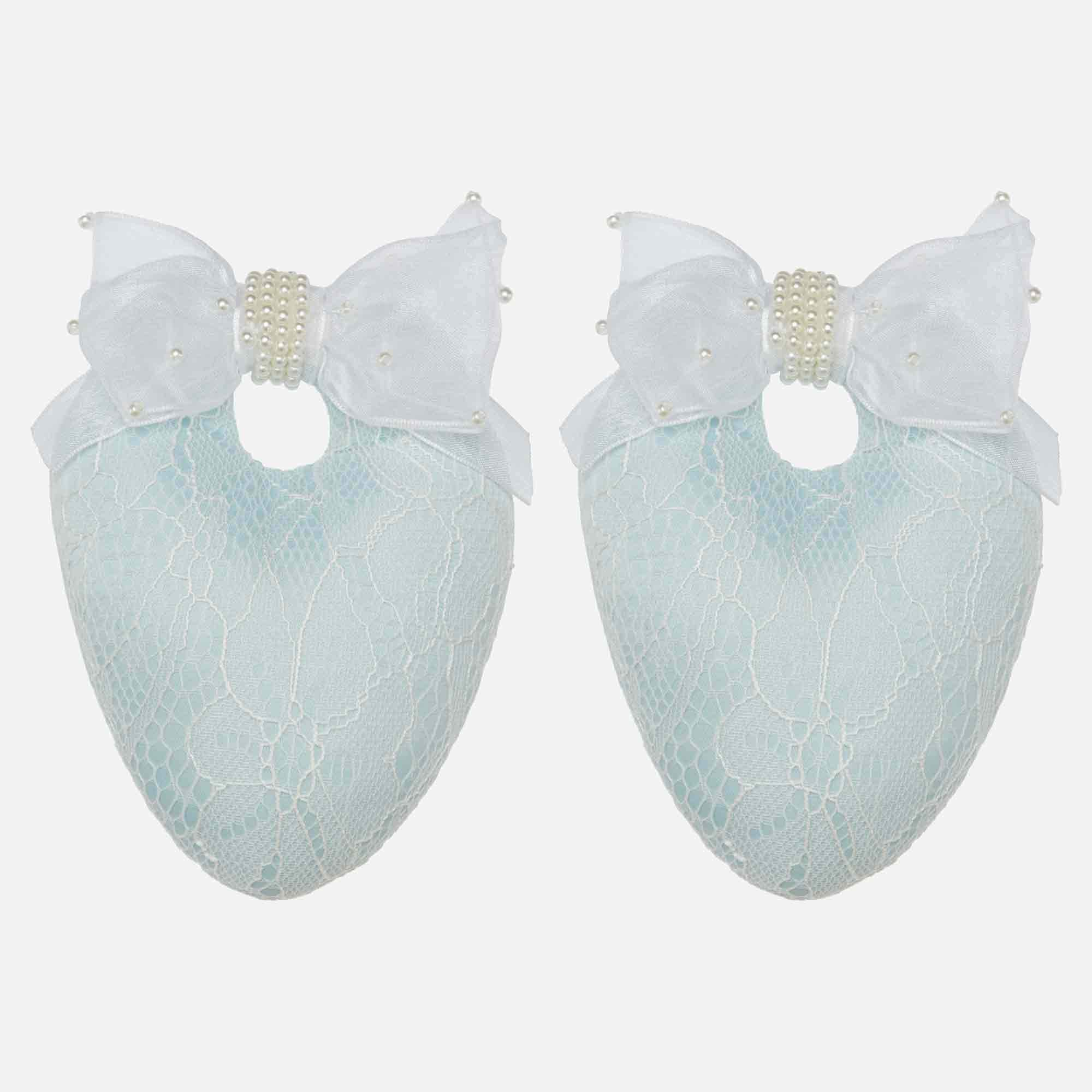 Sweet Blue Lace Shoe Stuffers