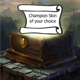 League of Legends Champion Skin Gift