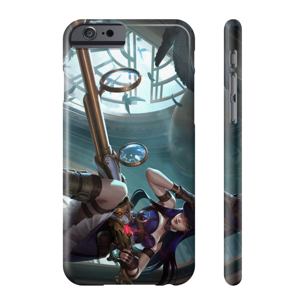 League of Legends Caitlyn Phone Cases