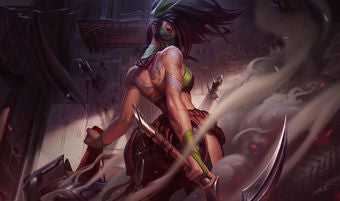 League of Legends Akali Gaming Mat