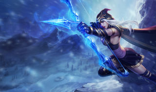 League of Legends Ashe Gaming Mat