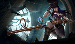 League of Legends Caitlyn Poster - League Of Legends One Stop Shop