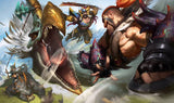 League of Legends Draven Gaming Mat