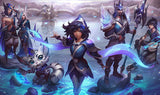 League of Legends Xayah Gaming Mat