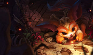 League of Legends Gnar Gaming Mat