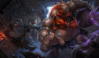 League of Legends Gragas Gaming Mat
