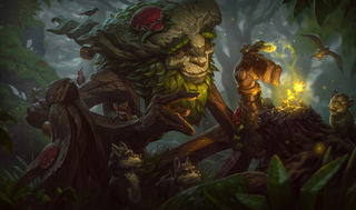 League of Legends Ivern Gaming Mat