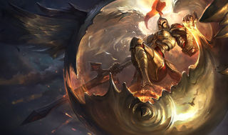 League of Legends Kayle Gaming Mat