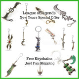 League of Legends Key Chains New Years Special - League Of Legends One Stop Shop