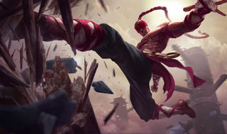 League of Legends Lee Sin Gaming Mat