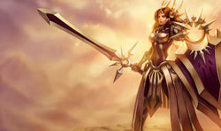 League of Legends Leona Gaming Mat