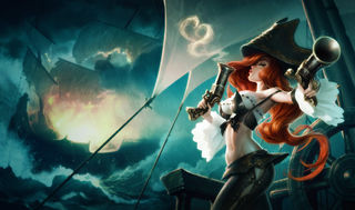 League of Legends Miss Fortune Gaming Mat