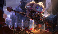 League of Legends Poppy Gaming Mat