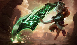 League of Legends Riven Gaming Mat