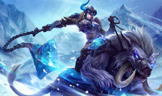 League of Legends Sejuani Gaming Mat
