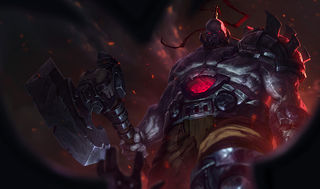League of Legends Sion Gaming Mat