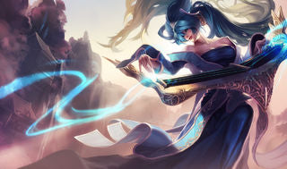 League of Legends Sona Gaming Mat