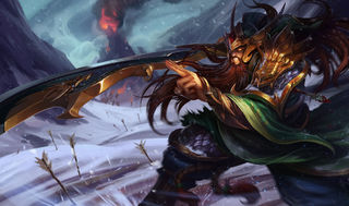 League of Legends Tryndamere Poster