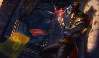 League of Legends Twisted Fate Gaming Mat