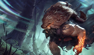 League of Legends Udyr Gaming Mat