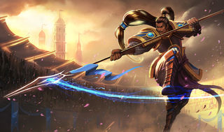 League of Legends Xin Zhao Gaming Mat