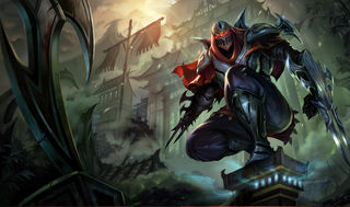 League of Legends Zed Poster - League Of Legends One Stop Shop