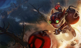 League of Legends Ziggs Gaming Mat