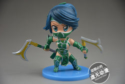 Action Figure - League Of Legends Akali Action Figure 9CM