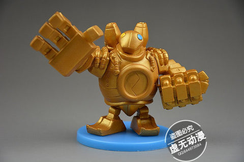 Action Figure - League Of Legends Blitzcrank Action Figure 9CM