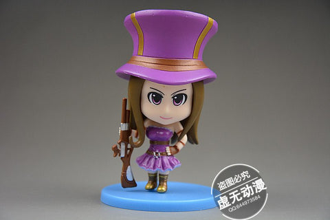 Action Figure - League Of Legends Caitlyn Action Figure 8CM