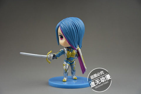 Action Figure - League Of Legends Fiora Action Figure 8CM