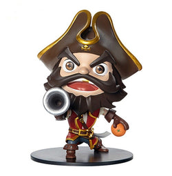 Action Figure - League Of Legends GangPlank Action Figure 10CM