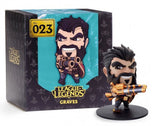 Action Figure - League Of Legends Graves Action Figure 9CM