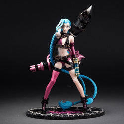 Action Figure - League Of Legends Jinx Action Figure 24CM