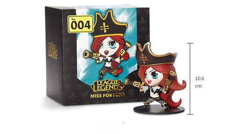 Action Figure - League Of Legends Miss Fortune Action Figure 10CM